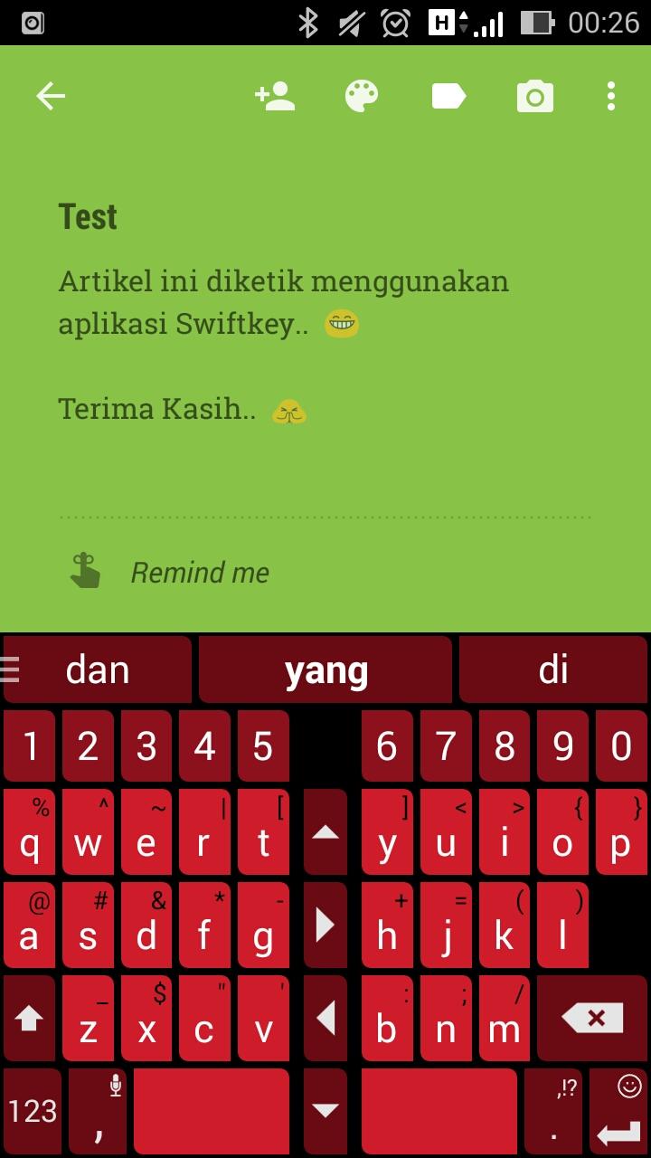 Keyboard Alternatif Android Swiftkey Anda Lu Sia Evercoss A28b Aplikasi Ini Membantu Saya Buat Ngetik Sms Ngitung Dan Bahkan Posting Di Blog Kalo Kamu Ngalamin Masalah Sama Hape Layar Colek Kaya