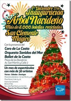 San Clemente Mágico realizará actividades para todo diciembre, en la víspera de las festividades