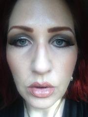 Wearing BUXOM Lip Polish in Bunny