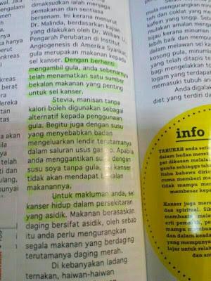 gula penyebab kanser