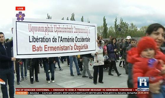 imatge de la commemoracion del genocidi dels Armenians 31