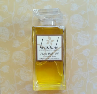 Beatitude Peace Body Oil.