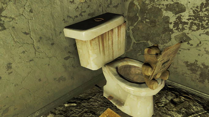 Excitement in Fallout 4