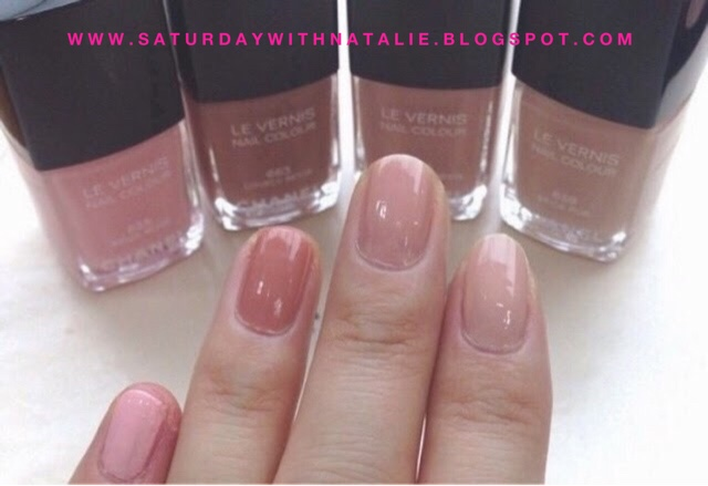 WellNailed x.: Swatches - Chanel Les Beige 2015