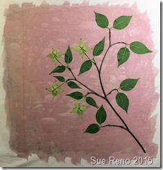 Sue Reno, Kousa Dogwood, Work In Progress, Image 9