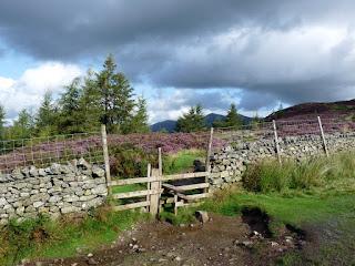 Stile near Walla Crag