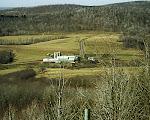 Farm in the valley, Garrett County, Western Maryland.