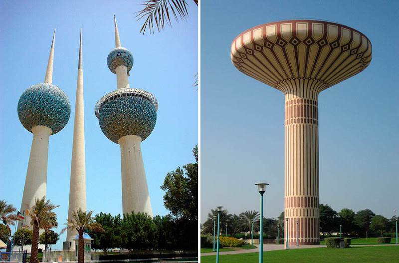 Dark Roasted Blend: Unusual, Intriguing Water Towers All Sizes Water Towers Kuwait Photos