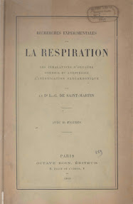 Cover of Louis Claude De Saint Martin's Book La Respiration (1893,in French)