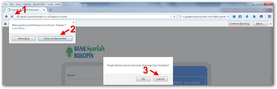 setting aplikasi ppob syariah