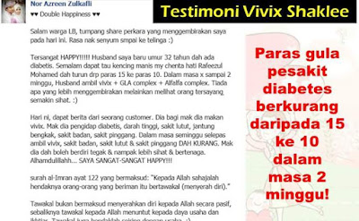 Testimoni Vivix Darah Tinggi