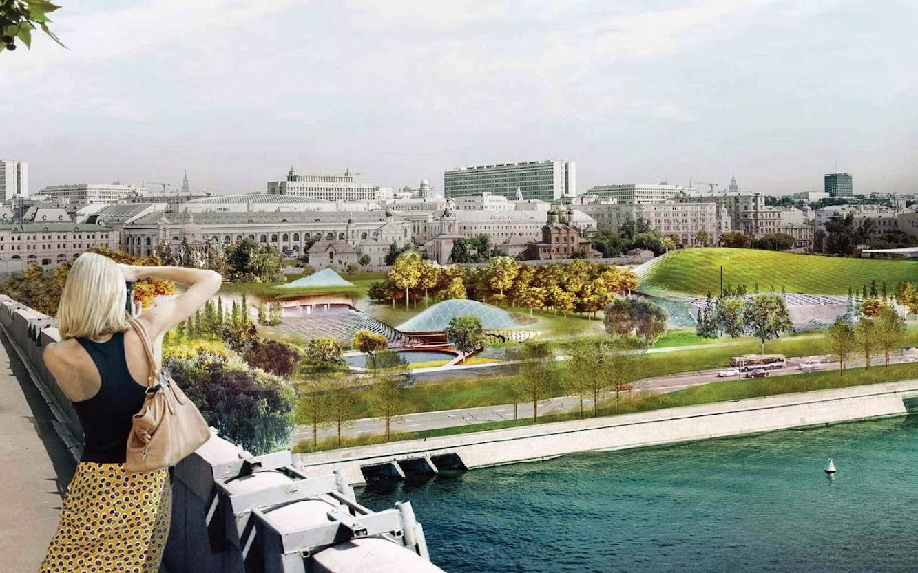 Mosca, Russia: Diller Scofidio + Renfro Wins Zaryadye Park Competition