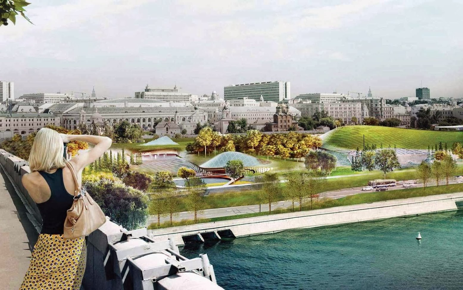 Mosca, Russia: [DILLER SCOFIDIO + RENFRO WINS ZARYADYE PARK COMPETITION]