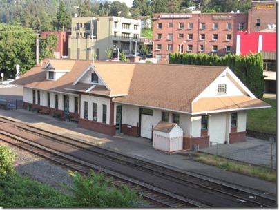 IMG_6639 Mount Hood Railroad Depot in Hood River, Oregon on June 10, 2009