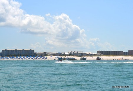 Popular snorkel area
