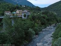 Heraus aus dem Tal der Var und über Tournefort Richtung Saint-Sauveur-sur-Tinée.