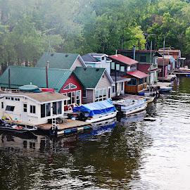mississippi river by Jon Radtke - City,  Street & Park  Neighborhoods ( mississippi river )
