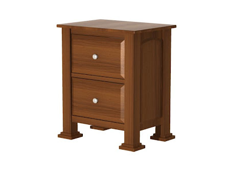 Concord Nightstand with Drawers, Sunrise Cherry