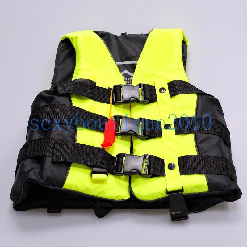 Kids children safe life jacket vest fishing swimming for Toddler fishing vest
