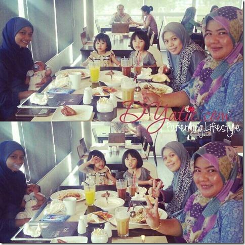 Makan Tengahari di Restoran Fork & Knife, Kuching (1)
