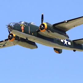 B25 by Jesse Howard - Transportation Airplanes ( dayton air show )
