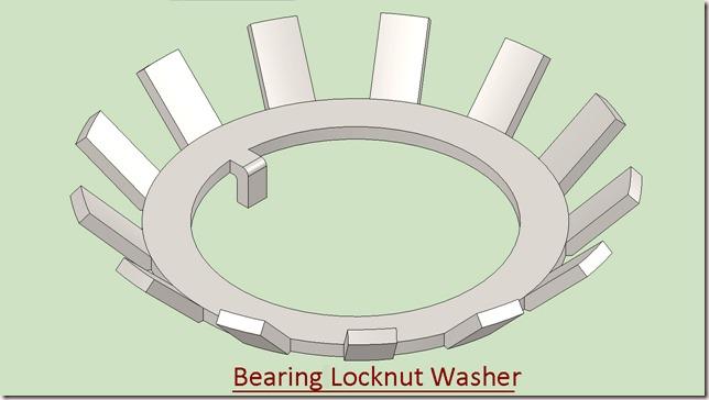 Bearing Locknut Washer