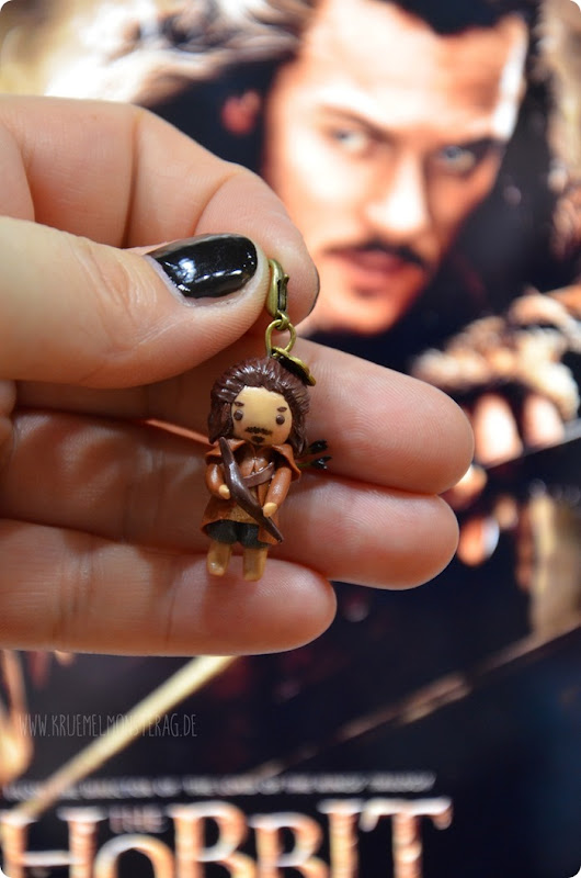 Bard The Bowman (05) Chibi Polymer Clay handmade by Samira
