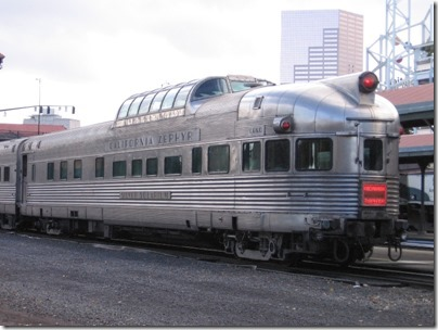 IMG_9804 California Zephyr Dome Lounge-Observation Car #377 Silver Solarium at Union Station in Portland, Oregon on October 21, 2009