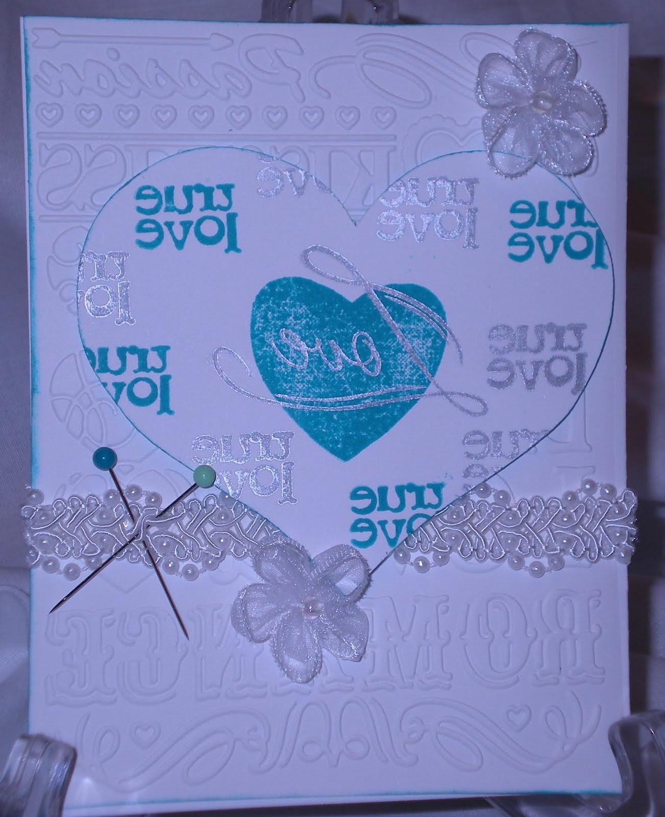 blue as their wedding