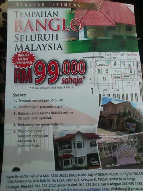 Rumah Banglo Alfafa