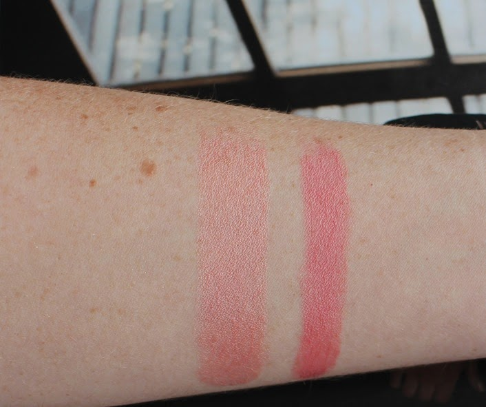 Swatches-EsteeLauder-All-Over_Illuminator,Suggestive-PureColorEnvyShine-Lipstick