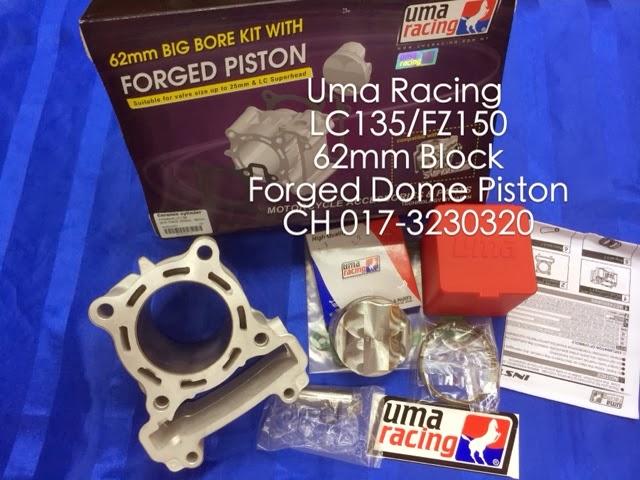 Head Racing Lc135 Uma Racing Lc135 Block 62mm