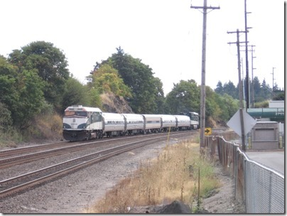 IMG_8695 Amtrak Cascades NPCU #90340 in Kalama, Washington on August 25, 2007