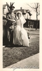 Soldier and his bride two Munber 706