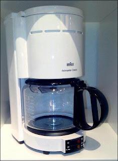 Kaffeemaschine Braun klassisch