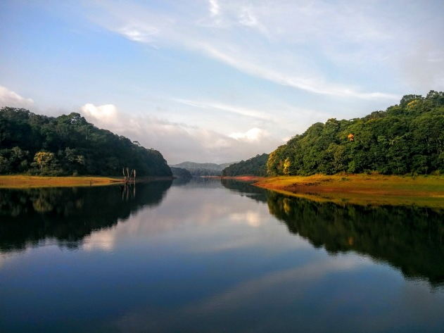 Early morning at Periyar Tiger Reserve, Thekkady