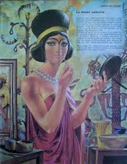 Vestido femenino sumerio