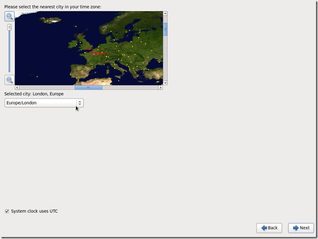 Install OS Screen 13