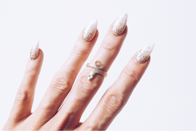 regal rose rings, fashion blogger, devoted to pink, tribal rings