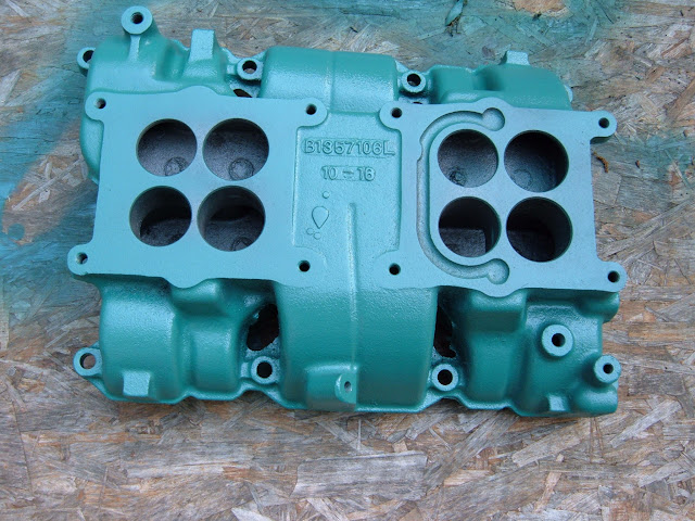 Factory 401 425 1964-66 dual quad intake manifold.  I have bare manifolds and complete setups sometimes. Call