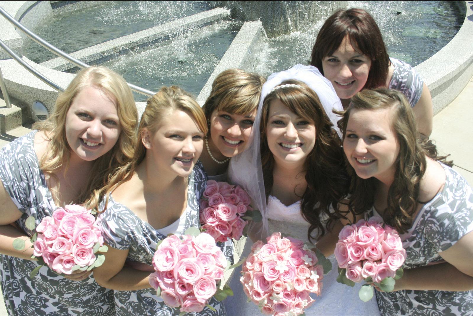 classy bridal bouquet