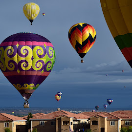 Balloons in the Hood by Shawn Thomas - Transportation Other