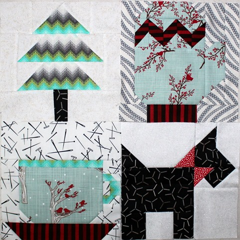 Winter Wonderland QAL Quilt Blocks