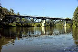 Sokolov - železniční most.
