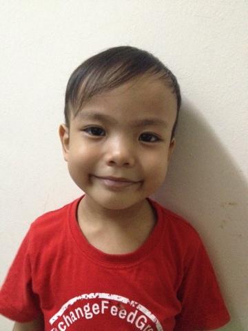 Rambut baru Adam Rayyan
