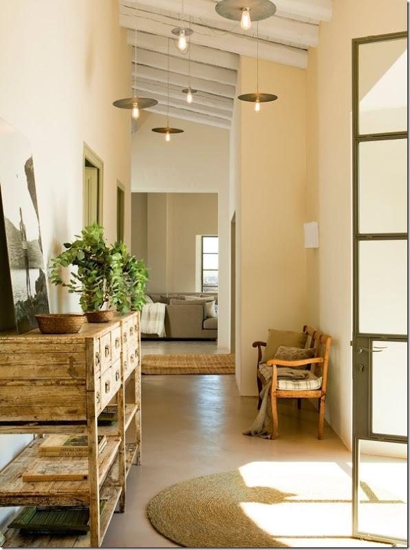 In campagna vecchia anima cuore nuovo case e interni - Mobili per case di campagna ...