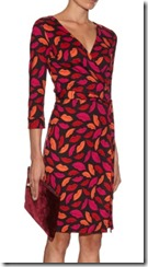 Diane von Furstenberg Kiss print dress