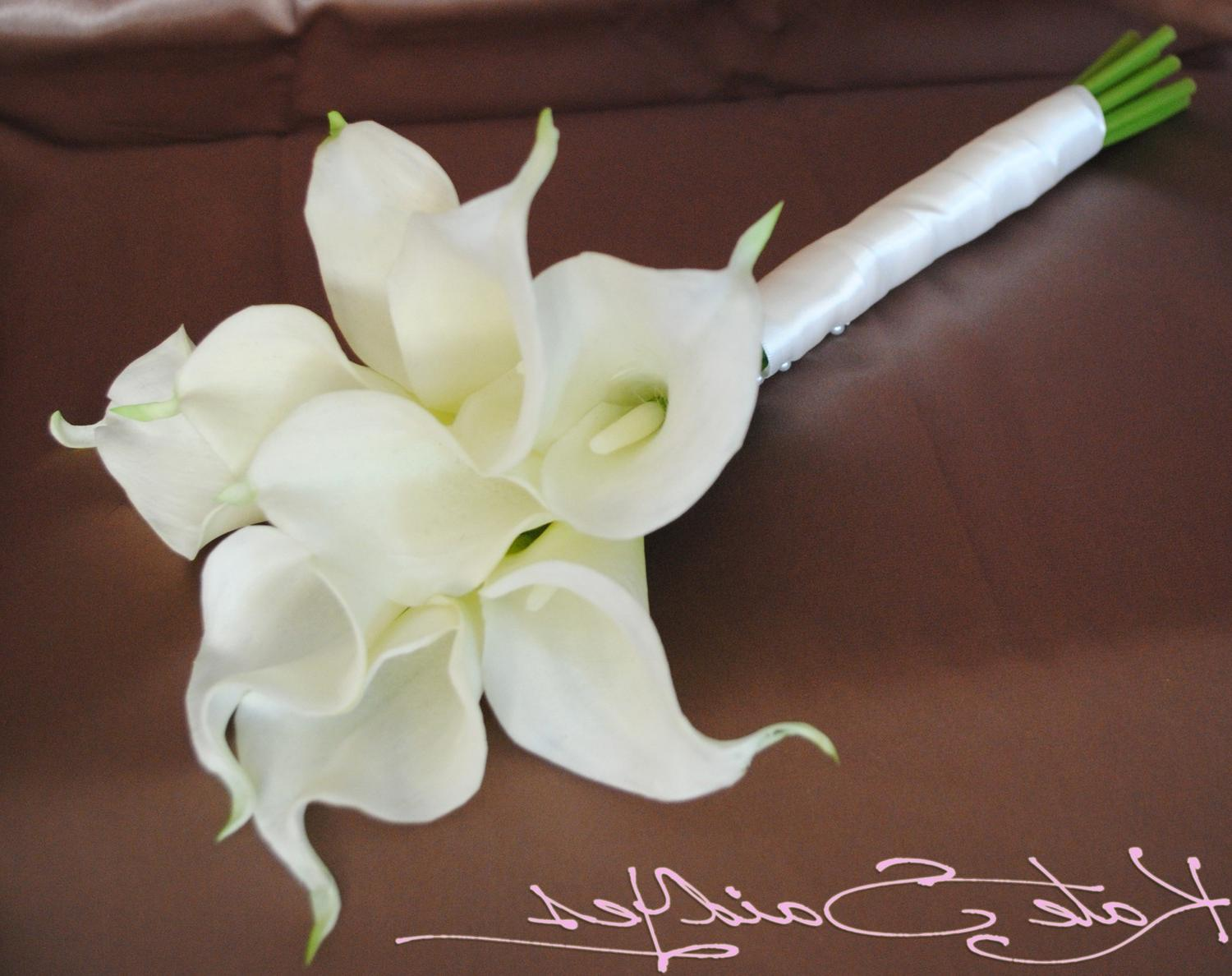 Cream Calla Lily Real Touch
