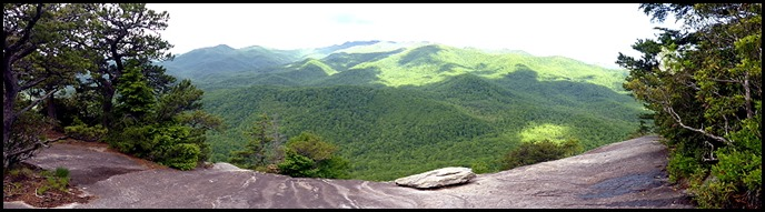 02b8 - Looking Glass Rock Hike - Panoramic View