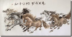 8-Wild-Horses-by-Chen-Ming